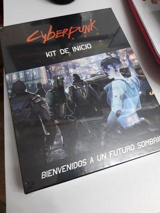 JUEGO DE ROL CYBERPUNK RED KIT DE INICIO ESPAÑOL
