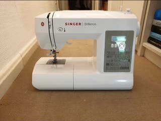 maquina coser singer brillance 6180