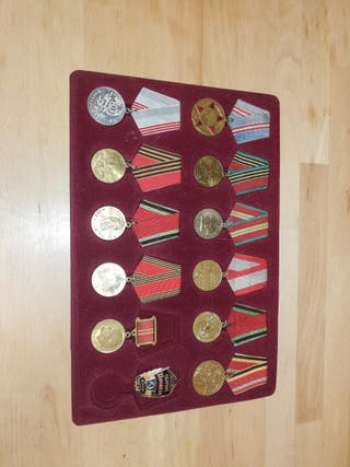 lote de condecoraciones segunda guerra mundial.