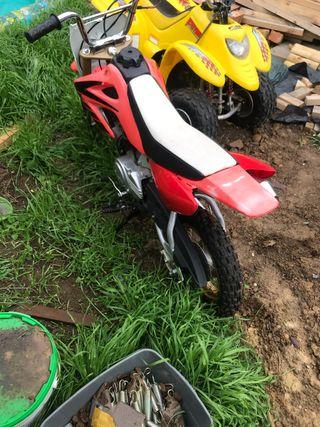 Kids 50cc semi auto pitbike dirtbike
