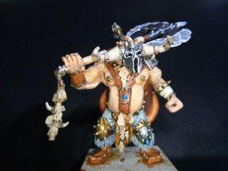 Warhammer ogro resina