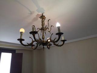 Lámpara estilo vintage.