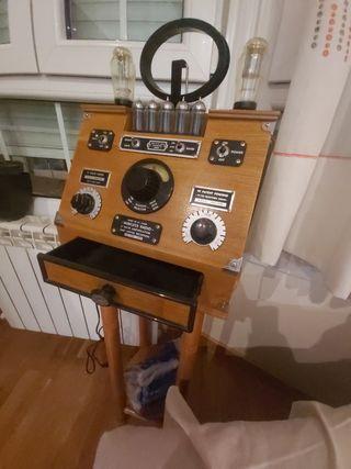 Radio vintage. Vireless radio