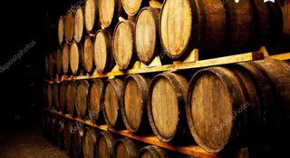 Botella vino Rioja del Vaticano.