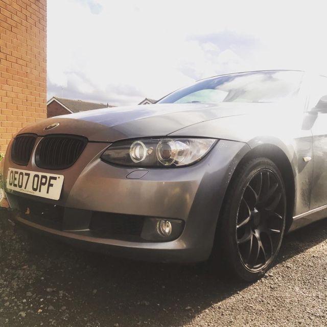 BMW 320d coupe m sport