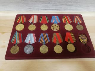 12 condecoraciones sovieticas segunda guerra mundi