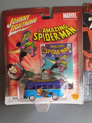 Furgoneta Volkswagen Samba Bus del 64 Spiderman