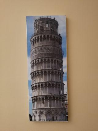 Cuadro Torre inclinada de Pisa