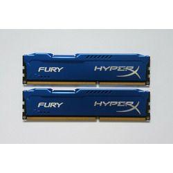 Memorias Ram HyperX Fury DDR3 1333-1600-1866 4+4GB