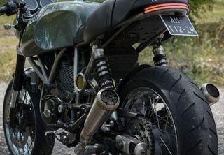 Colas de escape Ducati Sport Classic y GT 1000