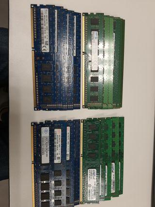 Packs de memorias RAM económicos