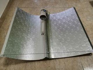 Reflector grande+HPS 600w