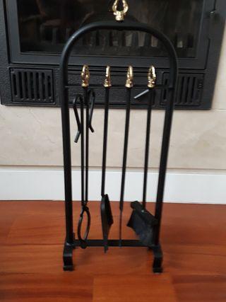 utensilios chimenea