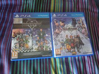 Vendo Kingdom Hearts 1.5+2.5 y Kingdom Hearts 2.8
