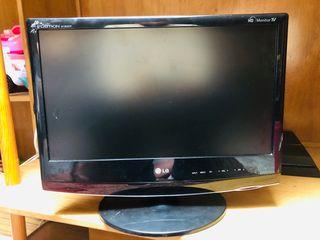 TV/monitor LG 19' pulgadas, sin mando
