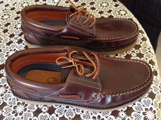 Zapatos tipo nautica
