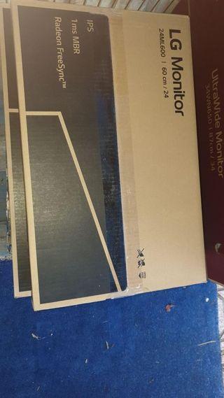 LG 24 FULL HD IPS MONITOR -24ML600