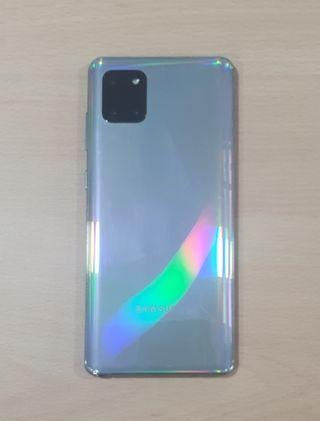 Galaxy Note10 Lite silver SIN CAJA