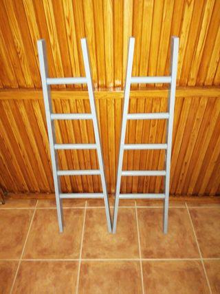 mini escaleras de madera