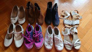 Regalo botines, sandalias y deportivas niña 36-37