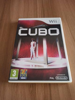Juego wii: El Cubo