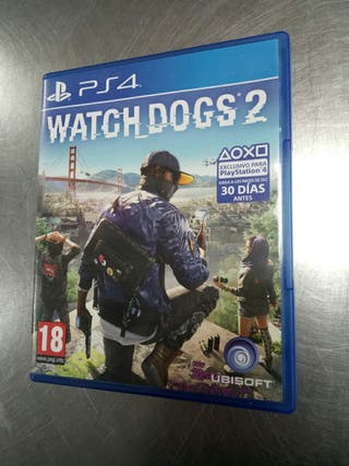 Watch Dogs 2. Ps4.