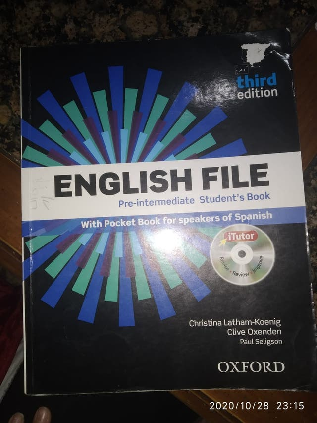 libro english file oxford