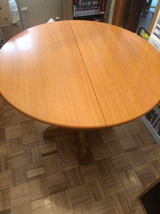 Mesa redonda de 90 cm de diametro