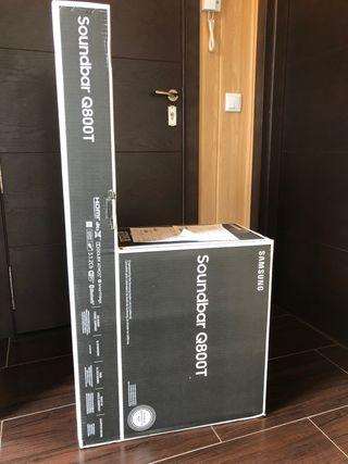 Barra sonido Samsung HW-800T. SIN ABRIR.