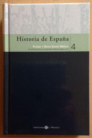 HISTORIA DE ESPAÑA 4.PLENA Y BAJA EDAD MEDIA