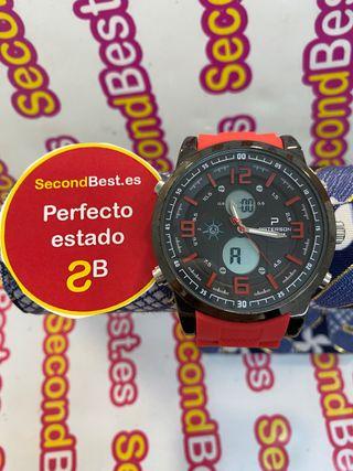 Reloj Paterson deportivo rojo