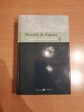 """Libro """"Historia de España"""""""