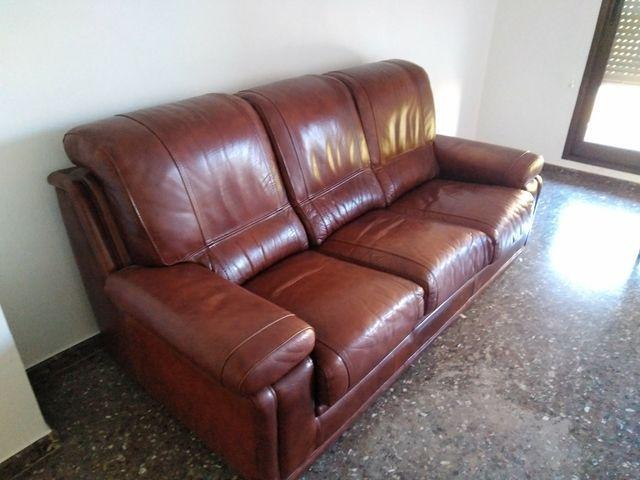 sofá piel