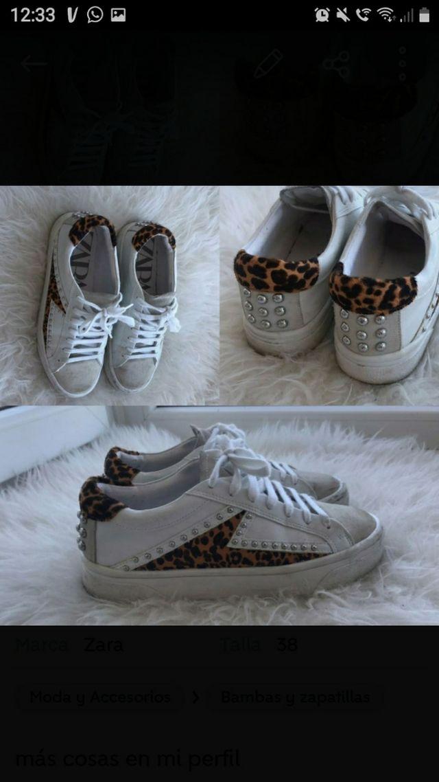 zapatillas de zara talla 38