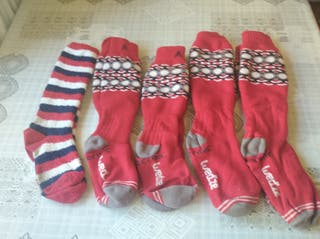 calcetines de nieve