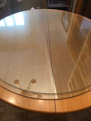 Cristal redondo 80cm diámetro