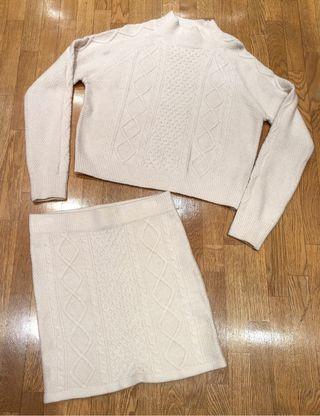 Conjunto Nuevo falda y jersey