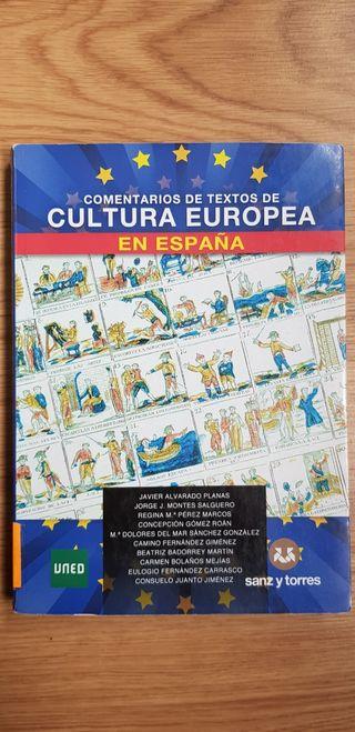 Comentarios Texto Cultura Europea