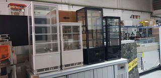 Vitrinas de 4 caras de Cristal Refrigeradas