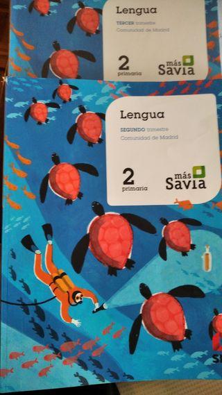 libros texto lengua SM 2 primaria