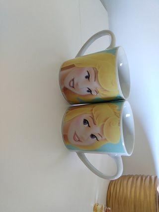Tazas princesa ceramica