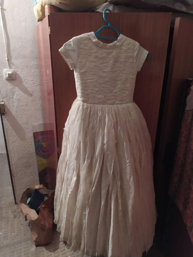 vestido comúnion