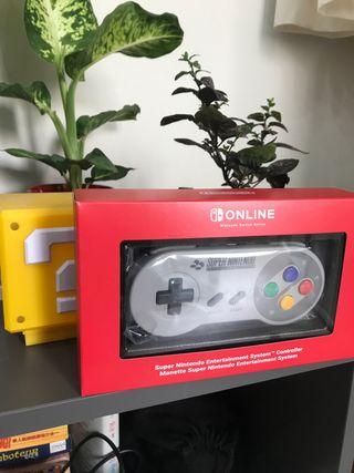 Mando Super Nintendo oficial para Nintendo Switch