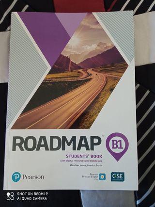Libros de texto inglés. Roadmap, B1, Pearson
