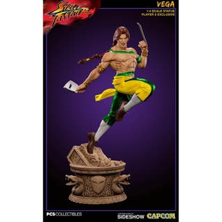 Estatua Street Fighter V Vega player 2 Exclusivo