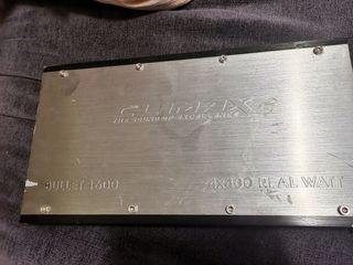 etapa coche climax 1600 bullet, amplificador.
