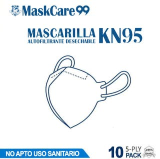 Pack de 50 mascarillas ffp2 KN95 GB2626-2006