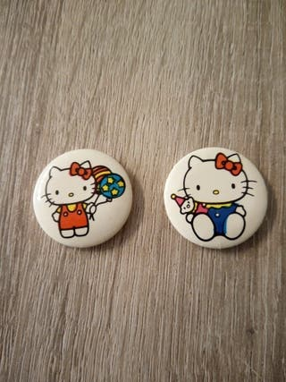 Chapas Hello Kitty Años 80