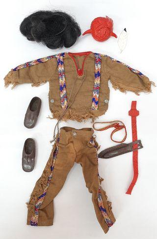 geyperman traje y complementos indio