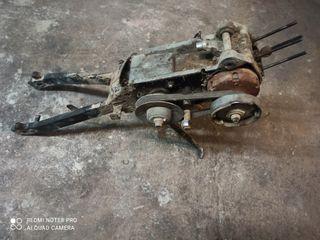 Motor derbi variant start pedales